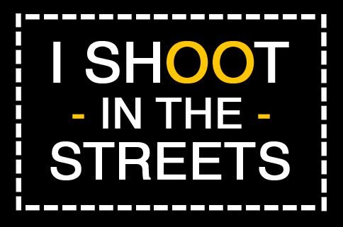 ishoootinthestreets black I Shoot In The Streets Graphics