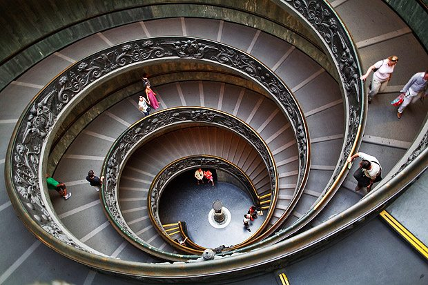 Spiral. The Vatican, Rome