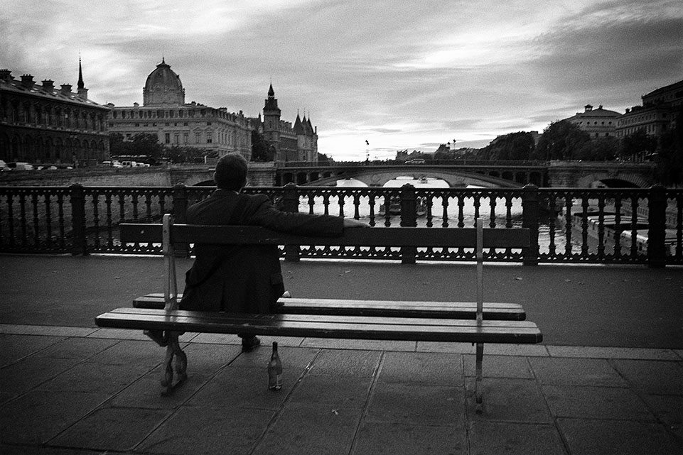 wine by the seine Which is better? Film vs Digital for Street Photography