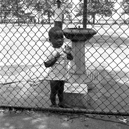 caged boy vivian maier1 Vivian Maier   The Unknown Master Street Photographer