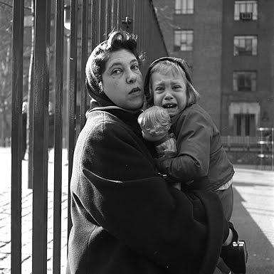 crying children1 Vivian Maier   The Unknown Master Street Photographer