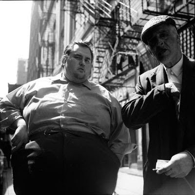 fat skinny vivian maier1 Vivian Maier   The Unknown Master Street Photographer