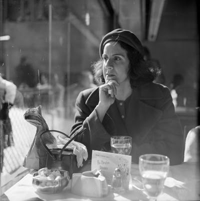 woman diner1 Vivian Maier   The Unknown Master Street Photographer