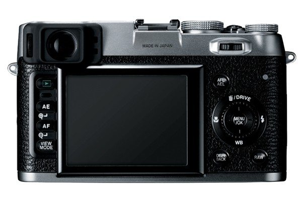 fujifilmx100 back Can the Fujifilm FinePix X100 be a Primary Street Photographers Camera?
