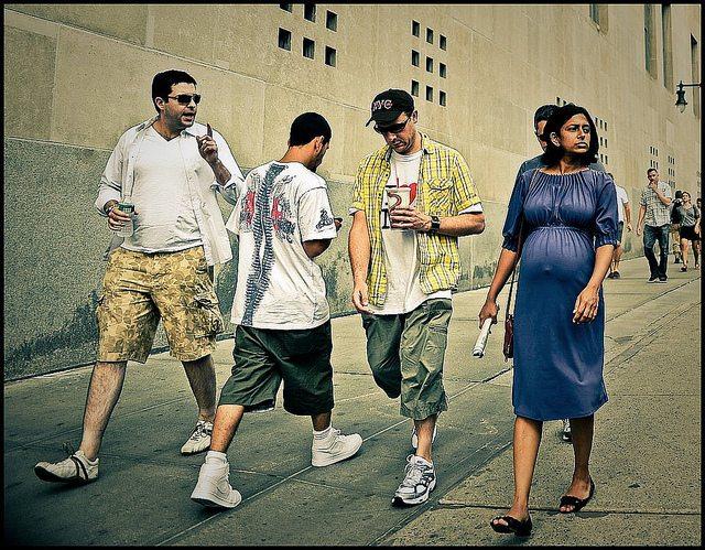 3. Pardon Me Comin Thru Featured Street photographer: Michael Martin from Manhattan, New York