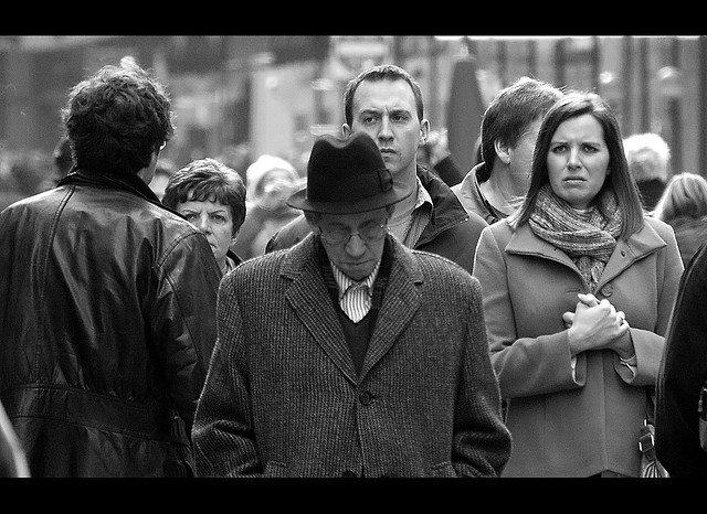 7. Everybody Hurts Featured Street photographer: Michael Martin from Manhattan, New York