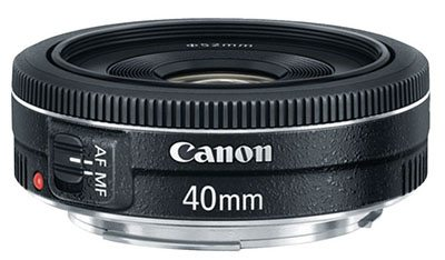 Canon 40mm f/2.8 Lens (ideal for full-frame Canon)