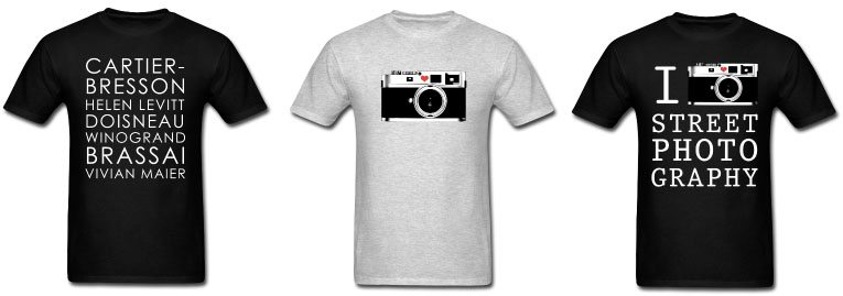 street photography shirts Equipment