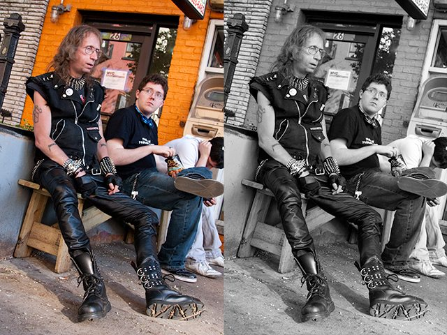 7 metalhead Black and White or Color in Street Photography: How Do You Make the Decision?