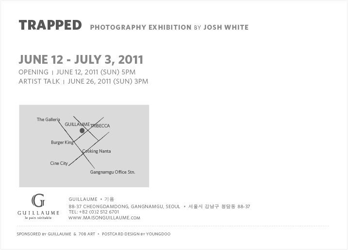back Trapped   Street Photography Exhibition by Josh White in Seoul, Korea