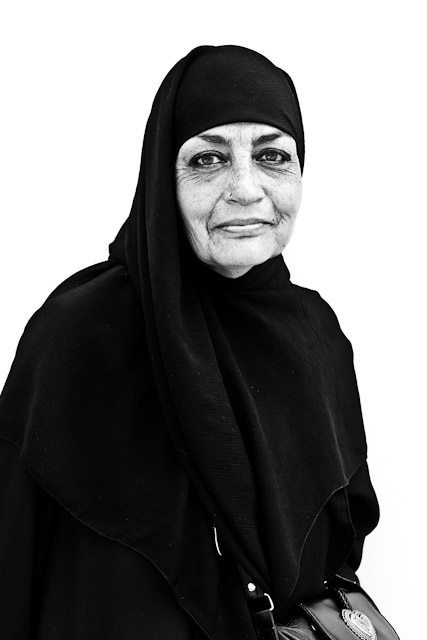 muslim The Street Portraiture Project of Fulton Street, Brooklyn by Chris Sorensen
