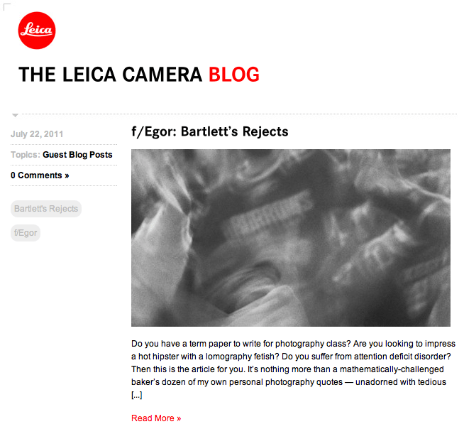 leica blog The 10 Best Street Photography Blogs on the Web (and more)