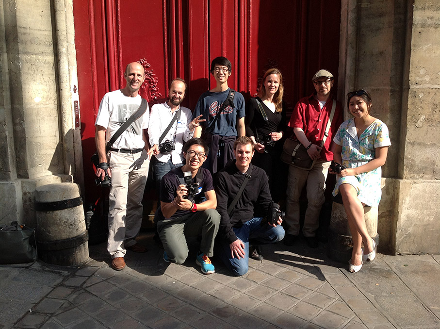 paris workshop group photo 10 Tips For Traveling and Shooting Street Photography