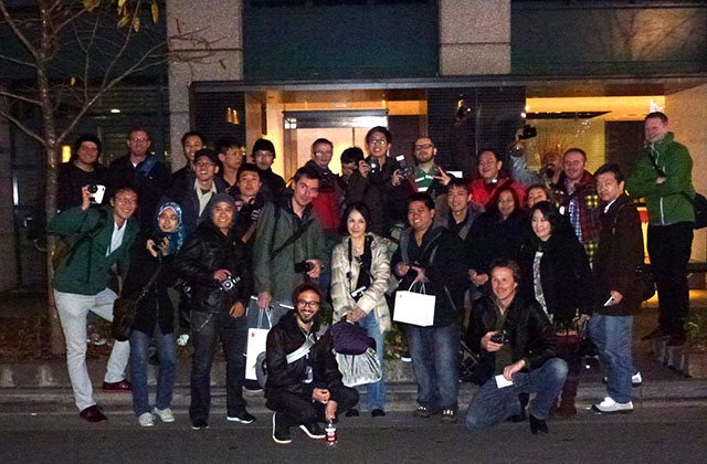 tokyo group photo 3 Upcoming Street Photography Workshops in Japan (Intro, Intermediate/Advanced, Film) in Tokyo and Kyoto   November, 2012