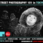 Experience the Workshop of a Lifetime: Street Photography 101 Workshop in Tokyo with Eric Kim, Charlie Kirk, Bellamy Hunt, and Alfie Goodrich
