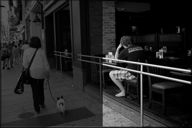 dog walker2 How I Shoot On The Street: An Application of Study and Practice by Brent Fong