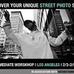 """Discover Your Unique Street Photography Style"" Intermediate Workshop in Downtown LA with Eric Kim, Rinzi Ruiz, and Jordan Dunn(2/3-2/5)"