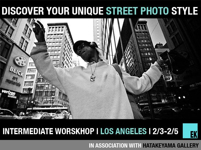 la intermediate workshop Discover Your Unique Street Photography Style Intermediate Workshop in Downtown LA with Eric Kim, Rinzi Ruiz, and Jordan Dunn(2/3 2/5)