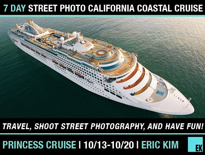 CRUISE workshop 7 Day Street Photography California Coastal Cruise + Adventure (10/13 10/20)