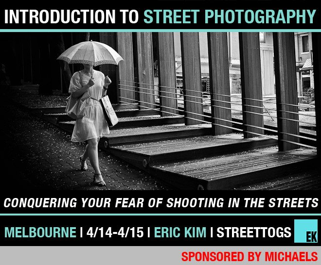 MELBOURNE workshop1 Conquering Your Fear of Shooting on the Streets Introduction to Street Photography Workshop in Melbourne (4/14 4/15)