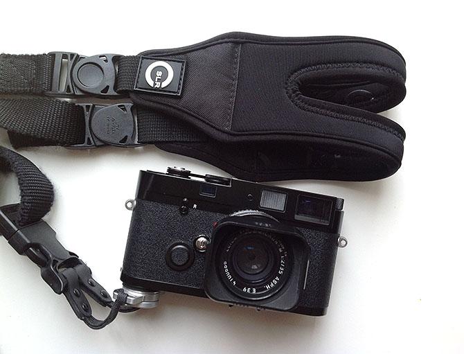 我的徠卡相機MP和特攻背帶Glide One