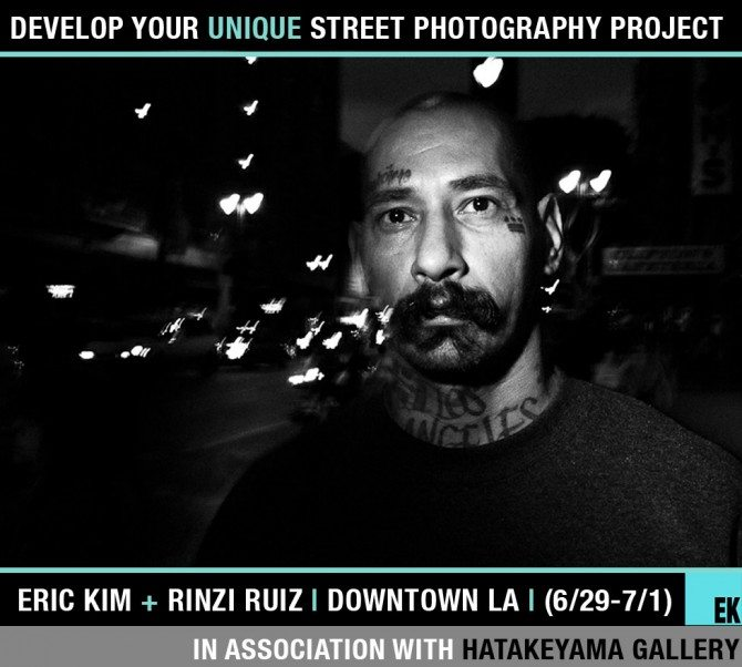 DTLA Eric Rinzi1 670x602 Develop Your Unique Street Photography Project Workshop with Eric Kim and Rinzi Ruiz in Downtown LA (6/29 7/1)