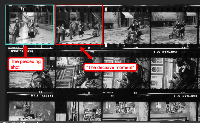 ruth orkin contact sheet 670x414 How Studying Contact Sheets Can Make You a Better Street Photographer