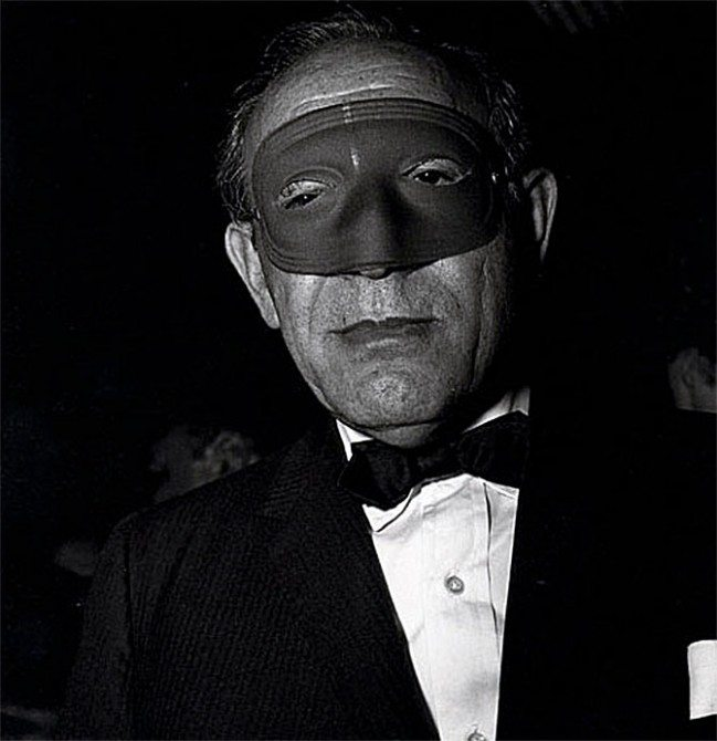 masked man 649x670 11 Lessons Diane Arbus Can Teach You About Street Photography