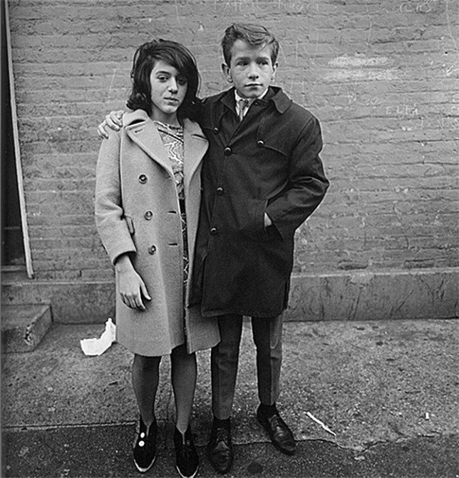 teenage couple 644x670 11 Lessons Diane Arbus Can Teach You About Street Photography