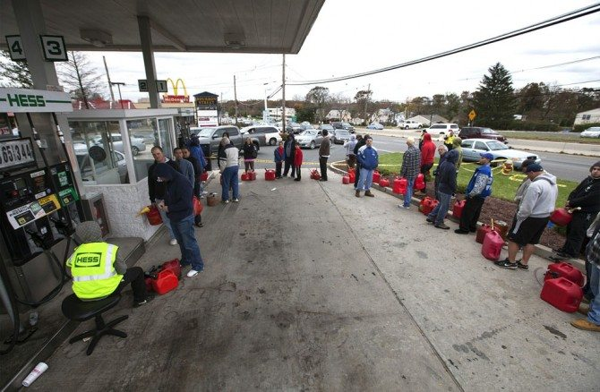 gas 670x438 Open Your Heart and Donate to the Victims of Hurricane Sandy