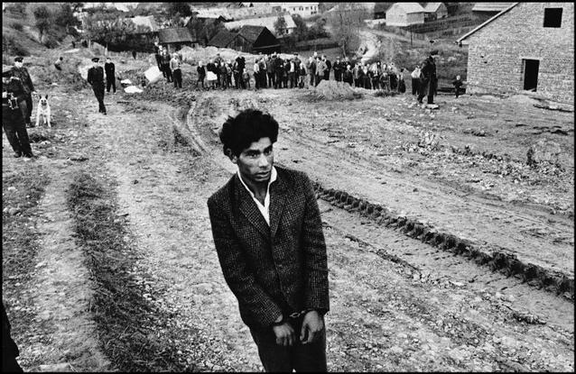 CZECHOSLOVAKIA. 1963. Slovakia. Jarabina. Reconstruction of a homicide. 10 Lessons Josef Koudelka Has Taught Me About Street Photography