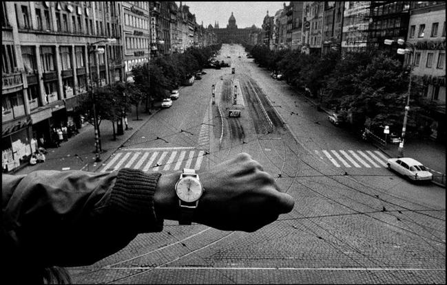 CZECHOSLOVAKIA. 1968. Prague. Invasion of Warsaw Pact troops in front of the Radio Headquarters. 10 Lessons Josef Koudelka Has Taught Me About Street Photography