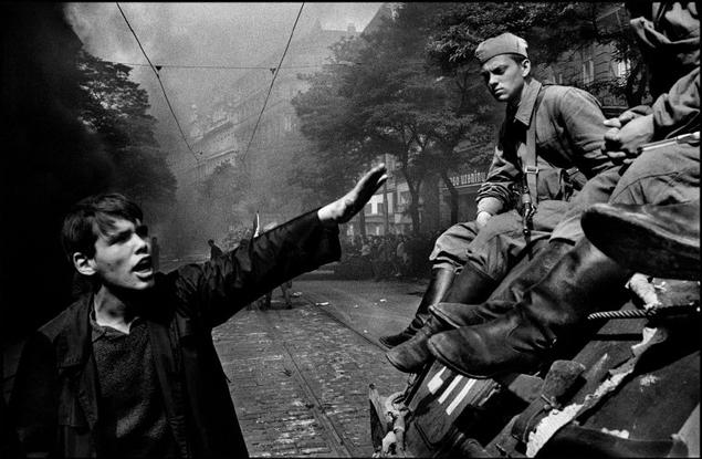 CZECHOSLOVAKIA. 1968. Prague. Invasion of Warsaw Pact troops near the Radio headquarters. 8 Rare Insights From an Interview with Josef Koudelka at Look3