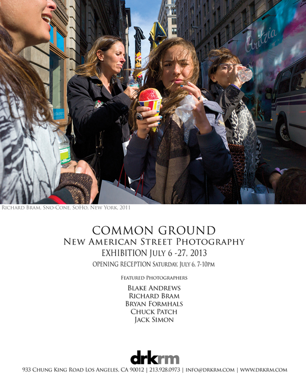 """Common Ground"" Opening in Los Angeles, July 6-27th / Featuring: Blake Andrews, Richard Bram, Bryan Formhals, Chuck Patch, and Jack Simon"