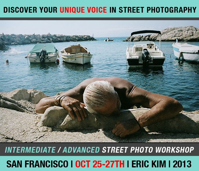 """""""Discover Your Unique Voice in Street Photography"""": San Francisco 3-day Intermediate/Advanced Street Photography Workshop (10/25-10/27)"""