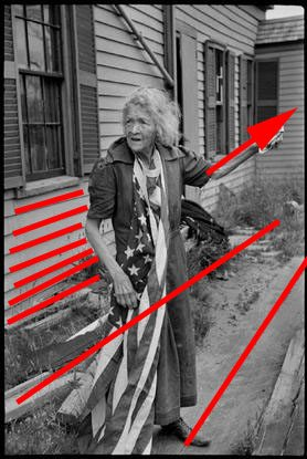 american woman 3 Street Photography Composition Lesson #3: Diagonals