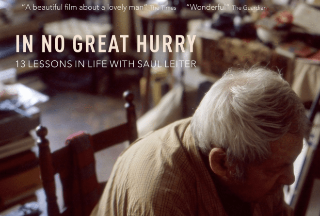 saul leiter 660x445 Saul Leiters In No Great Hurry Film Releasing Nov 16th in NYC!