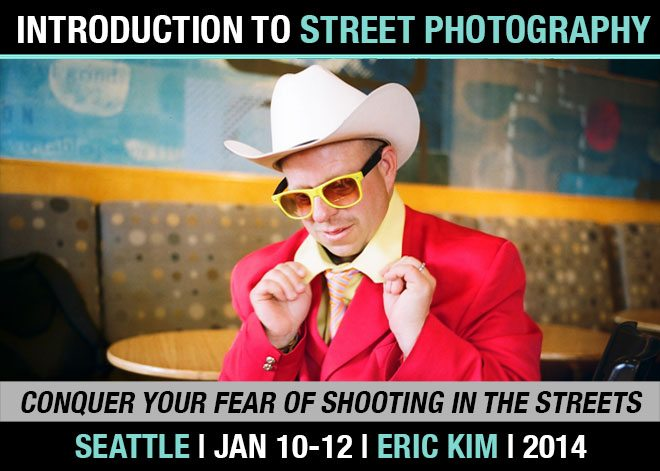 Don't Miss Out! One Week Left for Early-Bird Pricing of my Seattle 3-day Introduction to Street Photography Workshop (Jan 10-12, 2014)