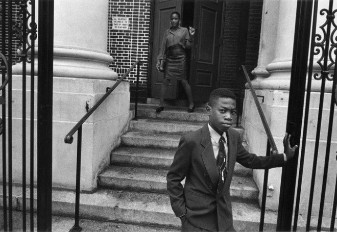 016 Youth front of church steps 660x455 Interview with Harvey Stein on His New Book: Harlem Street Portraits