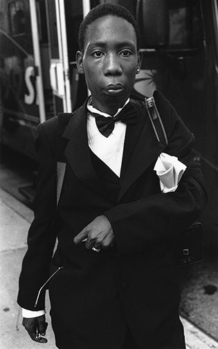 03 Young man in tux Interview with Harvey Stein on His New Book: Harlem Street Portraits