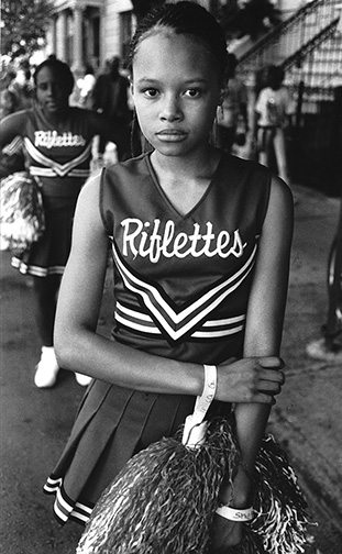 04 Girl in Riflettes outfit Interview with Harvey Stein on His New Book: Harlem Street Portraits