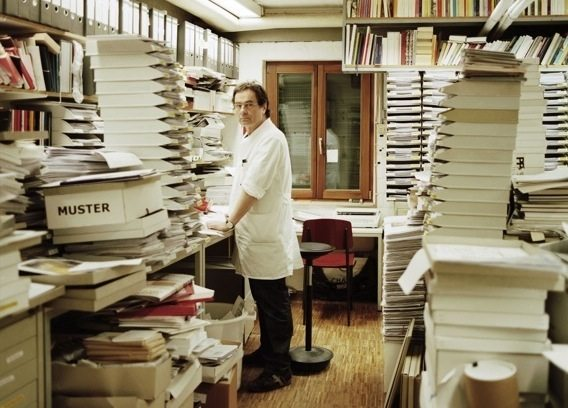 Gerhard Steidl, the master printer