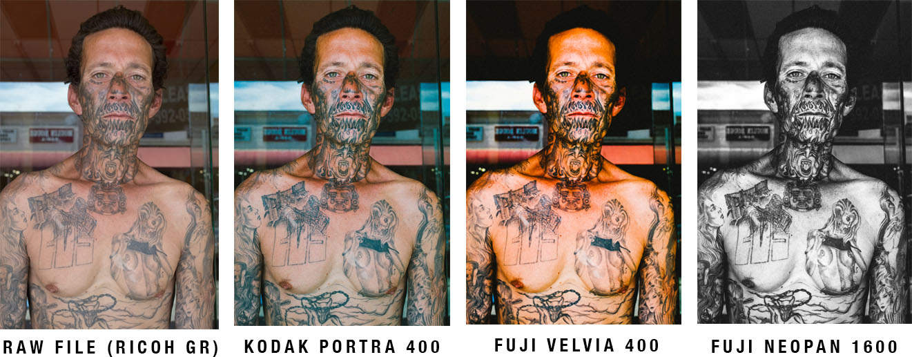 Free Film Street Photography Presets: Portra 400, Fuji Velvia 400, and Neopan 1600 for Lightroom 5