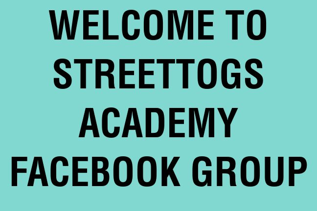 Streettogs Academy Group banner1 Introducing Streettogs Academy