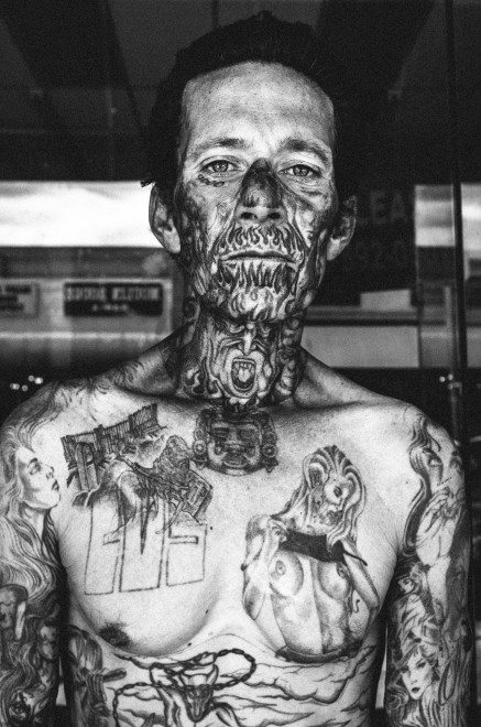 image1 437x660 Street Photography Contact Sheets #1: Face Tattoo, Downtown LA 2014