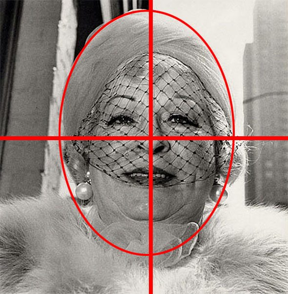symmetry woman Composition Lesson #14: Square Format