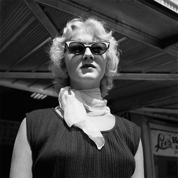 vivian maier woman glasses Composition Lesson #14: Square Format