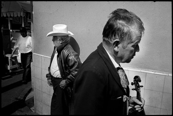 white hat coybow Reflections on Tijuana by Eric Labastida