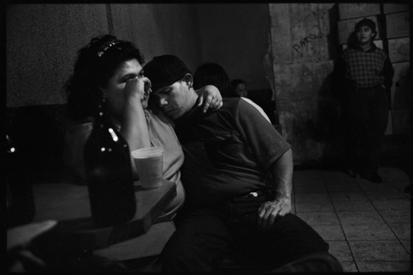 woman beer Reflections on Tijuana by Eric Labastida
