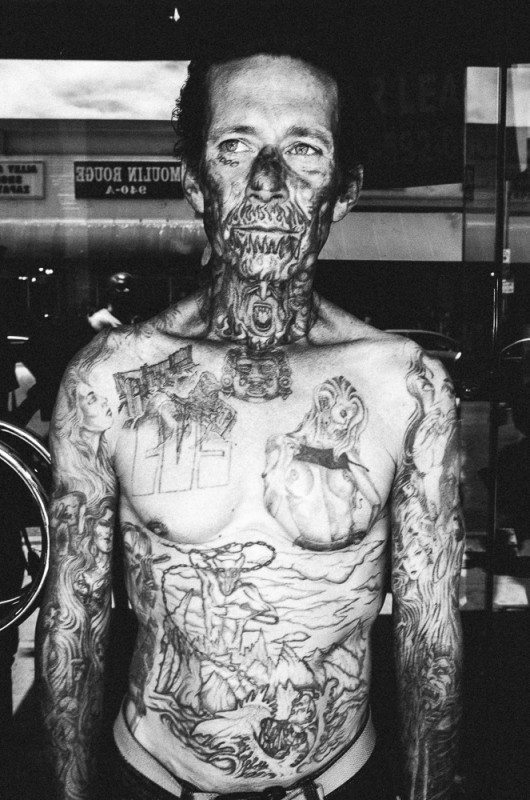 R0062873 530x800 Street Photography Contact Sheets #1: Face Tattoo, Downtown LA 2014